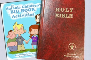 atheists want satanic coloring books in schools - Satanic Coloring Book
