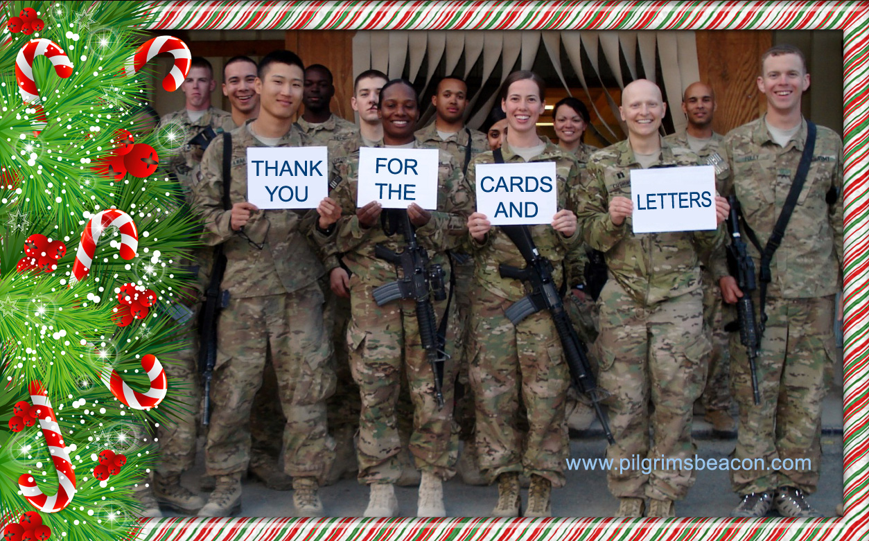 Send Christmas Cards And Letters To Support US Military Personnel ...